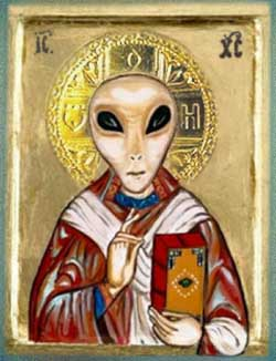 Image result for the religion of worshiping aliens